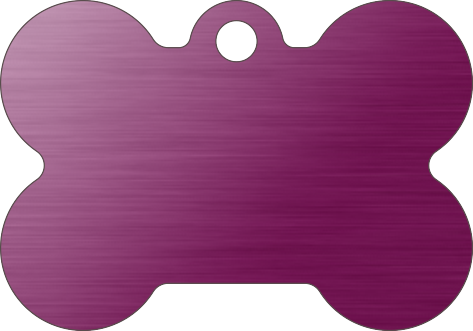 PACOTE DE PLACAS OSSO-(QTD: 5)-LILÁS-ESCOVADA