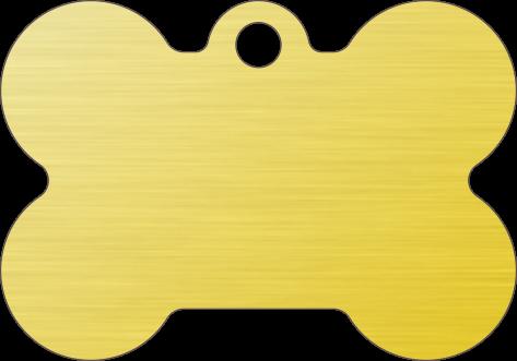 PACOTE DE PLACAS OSSO-(QTD: 5)-DOURADA-ESCOVADA