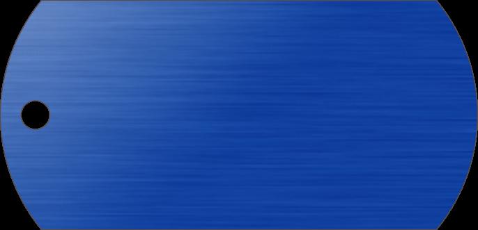 PACOTE DE PLACAS MILITAR-(QTD: 5)-AZUL-ESCOVADA