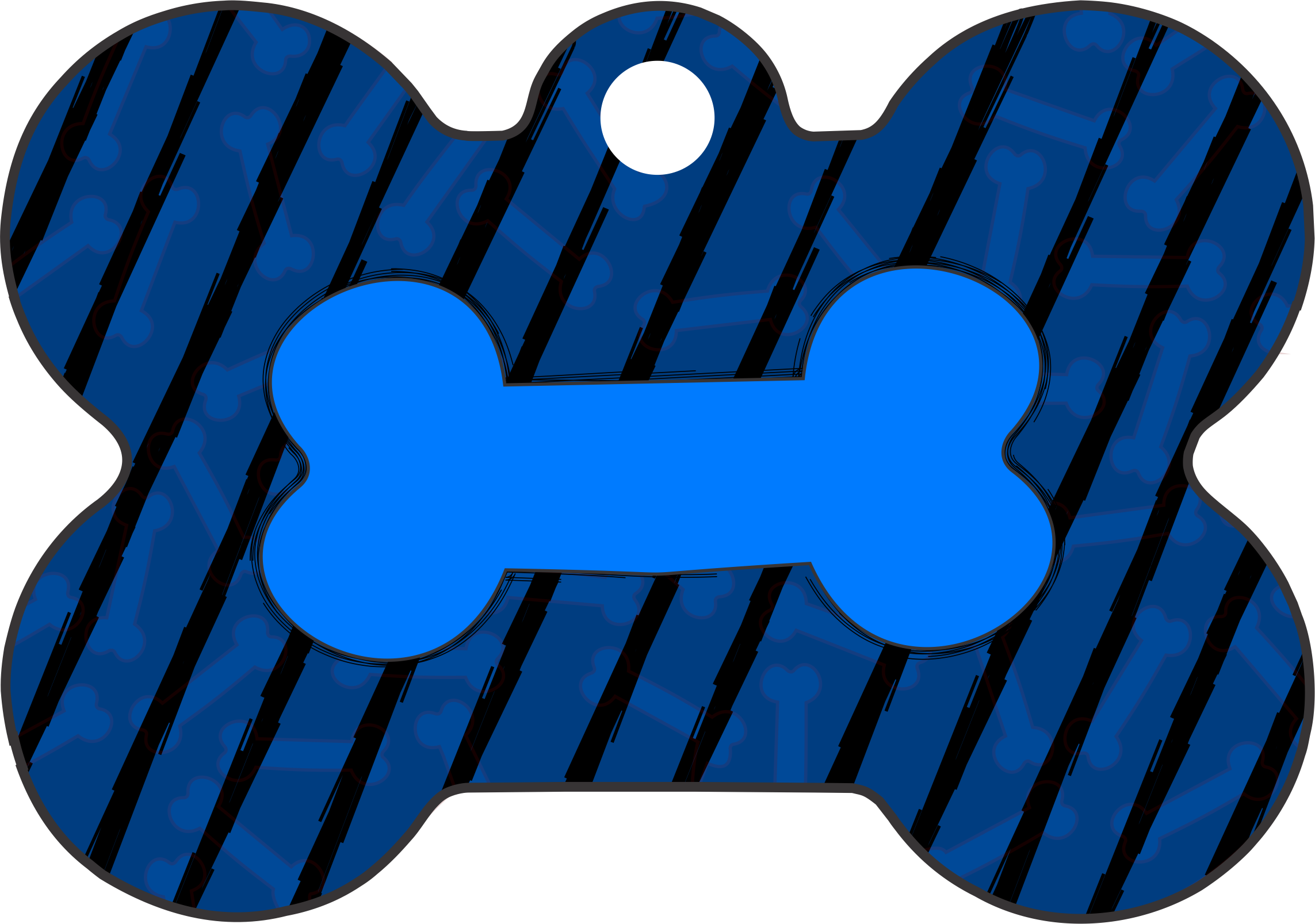 PACOTE DE PLACAS OSSO-(QTD: 5)-OSSO LISTRADO