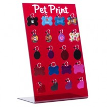 DISPLAY DE PLACAS PET PRINT (SEM PLACAS)