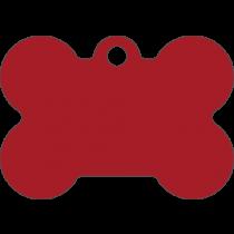 PACOTE DE PLACAS OSSO-(QTD: 5)-VERMELHA-JATEADA