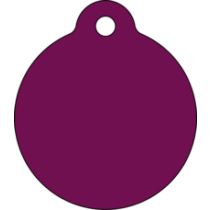 PACOTE DE PLACAS MEDALHA GRANDE-(QTD: 5)-LILÁS-JATEADA