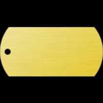 PACOTE DE PLACAS MILITAR-(QTD: 5)-DOURADA-ESCOVADA