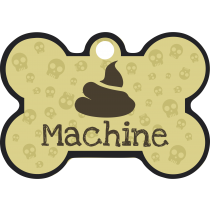 PACOTE DE PLACAS OSSO-(QTD: 5)-POOP MACHINE