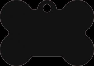 PACOTE DE PLACAS OSSO-(QTD: 5)-PRETA-JATEADA