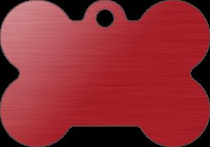 PACOTE DE PLACAS OSSO-(QTD: 5)-VERMELHA-ESCOVADA